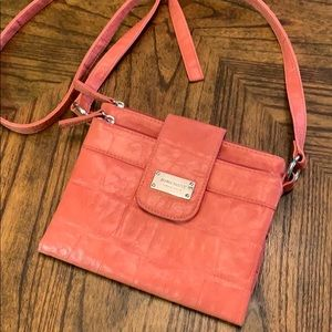 Nine West Bifold Crossbody in Gorgeous Coral